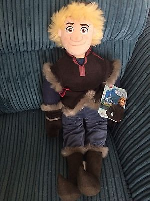 NEW Disney Store Frozen Kristoff Large Soft Toy Doll Figure 21 Inches Tall