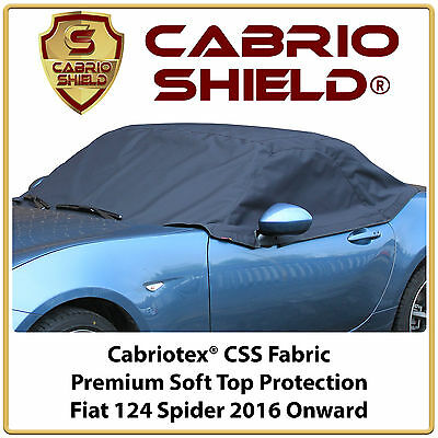 Fiat 124 Car Hood Soft Top Roof Cover Half Cover Premium Protection 2016 Onward