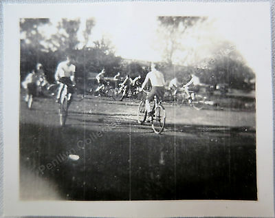 Dinas Powis Scout Camp (Bicycle Polo) 1936