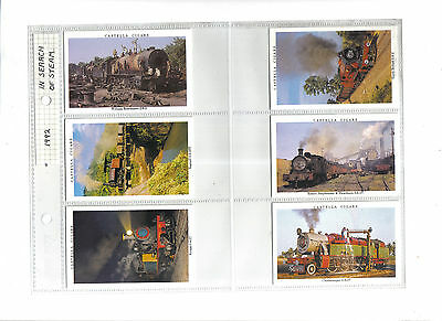 Wills Castella In Search of Steam.Issued 1992.Full set of 30 in sleeves