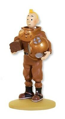 Figurine Tintin en Scaphandre marin   collection officielle N°65  New & box