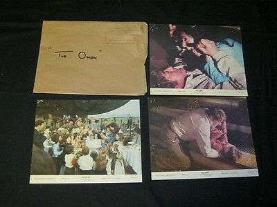 7-Original THE OMEN lobby cards + Australian Printed South Pacific Style Daybill