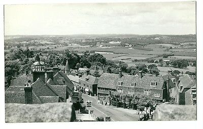Goudhurst, view from the Church Tower, Kent - RP Postcard 1961