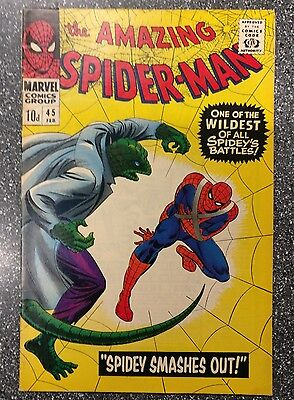Amazing Spider-Man #45 FN+