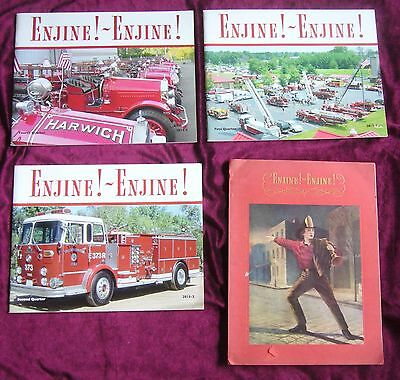 Enjine! Enjine! Dunshee 1939 Firefighting History Fire Engines + 4 Mags 2014-15