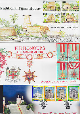 047449 Fiji  FDC First Day Cover`s - Lot