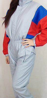 Vintage 80's 90's Womens All In One Ski Suit Small Made In Austria
