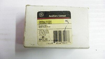 General Electric #CR305X100C Auxiliary Contact New 3/1/2B