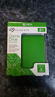 Seagate Game Drive for Xbox One 2TB Capacity Green - NEW AND SEALED