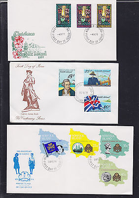 047472 Norfolk Island  FDC First Day Cover`s - Lot