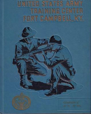 1968 US ARMY FORT CAMPBELL TRAINING CENTER 3rd Bn. 1st BRIGADE Co C VERY GOOD