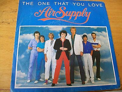 Air Supply The One That You Love 7""