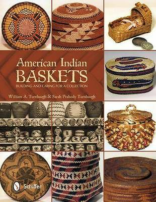 Native American Indian Baskets Collection Building & Care Ref w Tribal Design ID