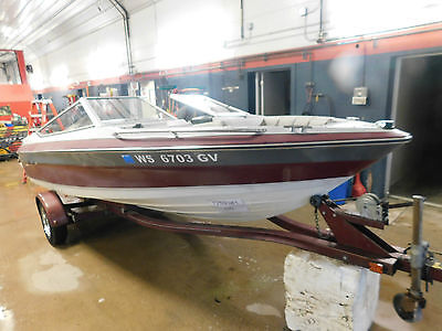 16' Maxum 1700 85HP Force Outboard w/Trailer T1259381