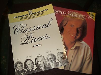 The Complete Organ Player Classical Pieces and the music of Richard Clayderman