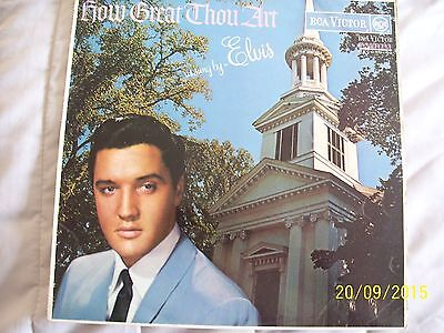 ' Elvis Presley ' - ' How Great Thou Art '  - 1St Press - Very Collectable