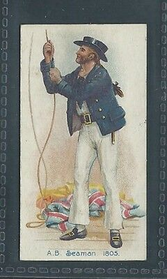 Players Old England's Defenders No 36 A.b. Seaman 1805