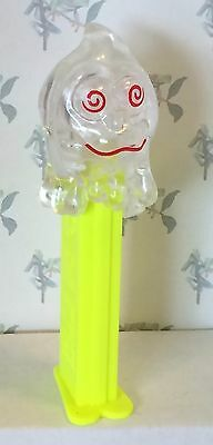 PEZ - Halloween Ghosts - Clear Crystal Slimy Sid - 4.9 Slovenia - loose