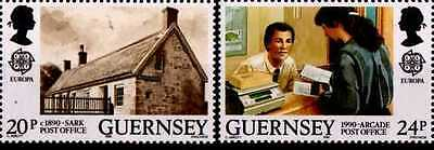 # GUERNSEY CHANNEL ISLANDS - 1990 - CEPT EUROPA - 2 Stamps MNH