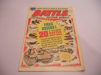 1 x Early Issue Battle Picture Weekly Comic # 3 22nd March 1975