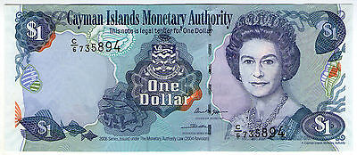 **   CAYMAN  Islands     1  dollar   2006   p-33c    UNC   **