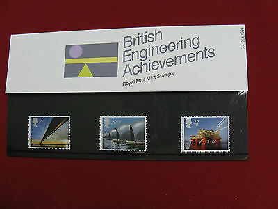UK: British Engineering Achievements.3 Stamp Pack Number 144. Issued: 25.5.1983