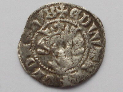 Medieval Hammered Silver Penny Edward I , Canterbury