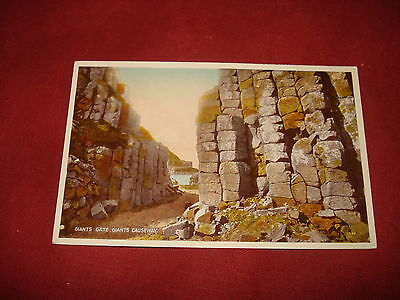 VINTAGE NORTHERN IRELAND: ANTRIM Giant's Causeway Giant's gate colour tint