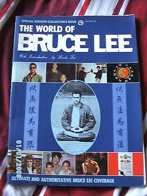 The world of bruce lee, special collectors issue book/magazine