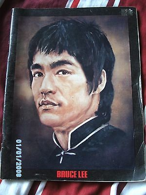 Bruce lee the man the legend book, way out 1974