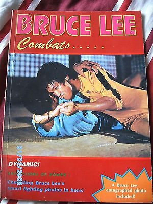 Bruce lee combats, dynamic! expressions of power book
