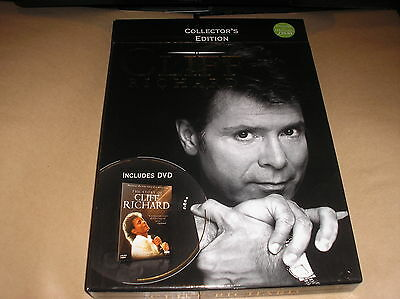 CLIFF RICHARD Collector's Edition BOX SET with DVD, POSTER 4x Prints & Book RARE