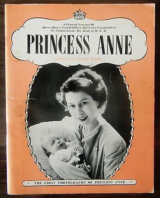Princess Anne First Souvenir Book - Publisher Pitkin's.