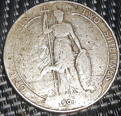 Nice Great Britain 1907 Florin Coin