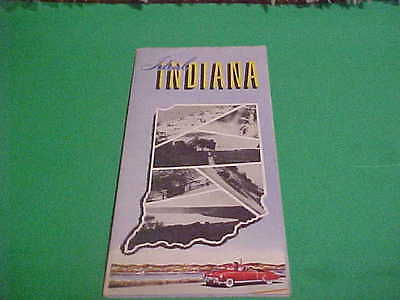 Ca 1940's Ideal Indiana Souvenir Booklet Governor Henry Schricker