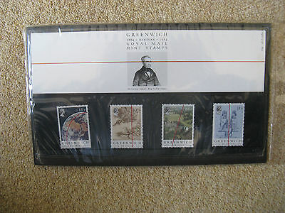 UK: Centenary of Greenwich Meridian.4 Stamps. Pack Number 154. Issued: 26.6.1984