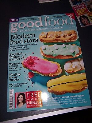 GOODFOOD magazine dated May 2016 - new