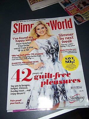 slimming world magazine dated March/April 2016 - new