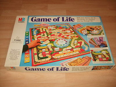 Vintage Game Of Life Board Game - MB Games 1978 - Complete