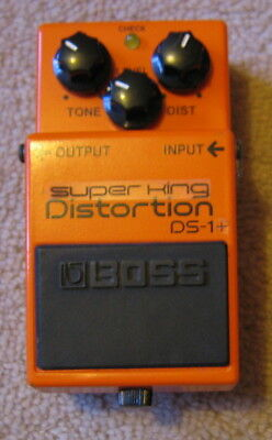 Super King Boss DS1+ modded distortion pedal - boxed