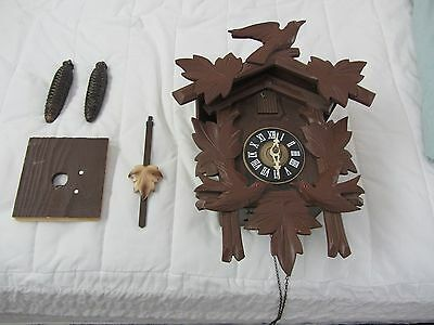 Black Forest Coo Coo Clock By Hubert Herr Triburg Germany