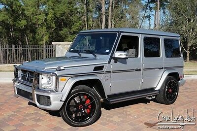 2016 Mercedes-Benz G-Class  Mercedes Benz G63 AMg Renntech Crave Luxury Auto 281-651-2101