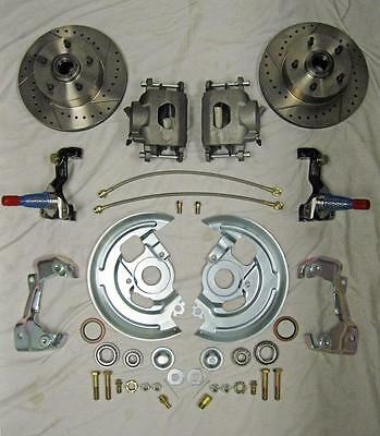 1964 - 1972 GM A F X Body High Performance Disc Brake Conversion Kit Camaro GTO