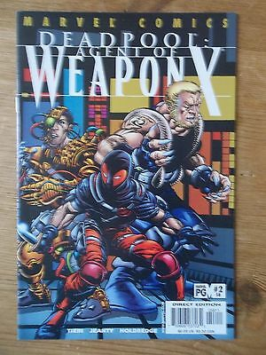 DEADPOOL #58 (1997) - Agent of Weapon X pt.2 HIGH GRADE: VF/NM(9.0) to NM- (9.2)