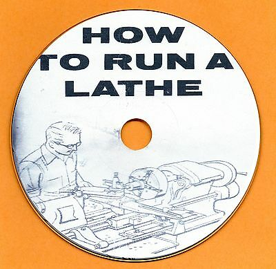 How To Run A Lathe South Bend 1914 - 1960 user manual CD-ROM