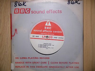 "BBC Sound Effects 7"" Record - Samoyed Dogs"