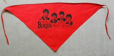 Vintage Beatles Head Scarf.
