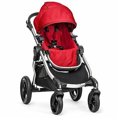 Baby Jogger City Select Single - Silver Frame, Ruby - 1959407