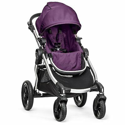 Baby Jogger City Select Single - Silver Frame, Amethyst - 1959409