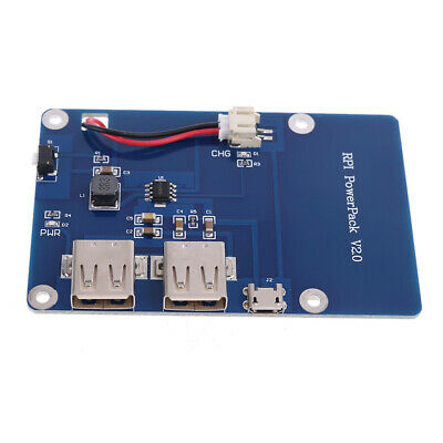 Lithium Battery Power Supply Expansion Board with Switch for Raspberry Pi 3 1pc